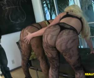 Two busty lesbians Madison Rose and her girlfriend fuck wild