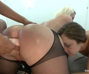 Amazing fetish, anal adult video with crazy pornstars Remy LaCroix, Cherry Torn and Francesca Le from Everythingbutt