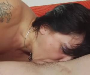 Incredible pornstar in hottest blowjob, brunette adult scene