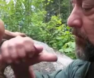 Older bear gay sucks and attracts a young weenie is empty