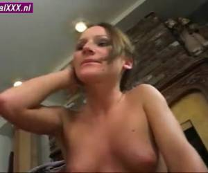 He fucks her mouth and pussy hard and deep