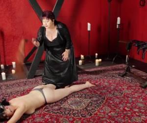 Exotic bdsm, fetish sex scene with best pornstars Nerine Mechanique and Cleo Dubois from Kinkuniversity