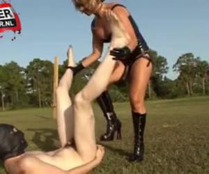 Femdom, in the shame block anal taken