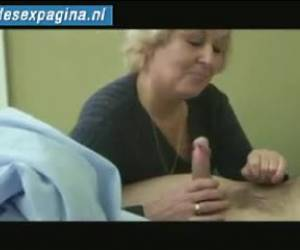 Mature lady is a little bit naughty