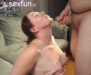 Yes let the sperm from your thick dick in my mouth and tits speehed