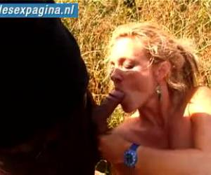 Threesome in the outdoors free video