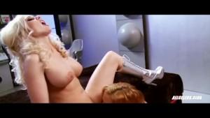 Hot Lesbians Krissy Lynn and Christie Stevens in Intergalactic Swingers