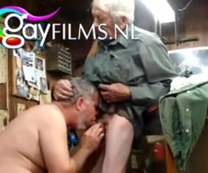 Deze gay senioren kunnen nog steeds pijpen en klaarkomen