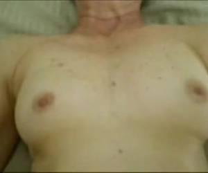 A senior slut takes a thick dick