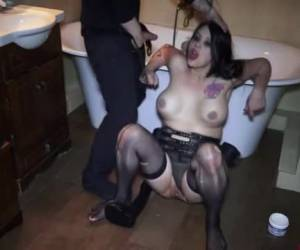 Dildos, fisting and sperm swallowing