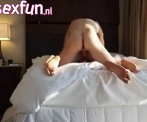He pumps her pussy full of sperm as he comes