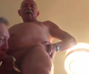 Gay seniors make blow video