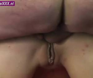 I fuck this glasses-wearing escort girl anal and get her ready