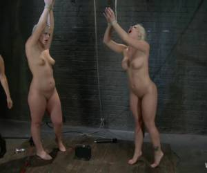 Amazing blonde, fetish xxx clip with exotic pornstars Holly Heart, Tara Lynn Foxx and Isis Love from Wiredpussy