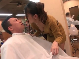 Guy ! This time for haircuts - Ria Kashii