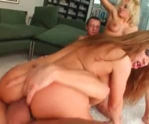 Hardcoree orgy whiteh double anal penetration