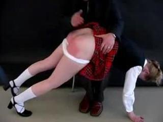 How To Spank a Naughty Schoolgirl