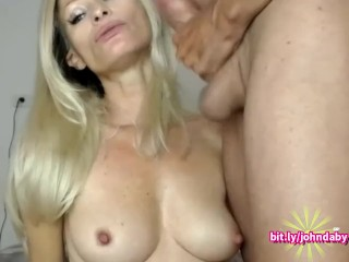 Mouthy Milf Smokes Big Dick