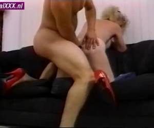 Her labia flaps up and down as the young cock enters her fucks