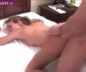 The young couple enjoy their first porn movie