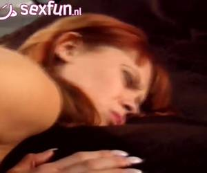 Redhead slut wanna say and let herself fuck by a dwarf