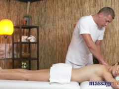 Massage Rooms Hot Milf with big boobs gets a deep fucking