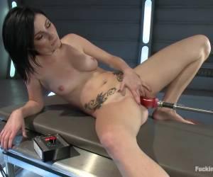 Horny fetish sex movie with fabulous pornstar Veruca James from Fuckingmachines