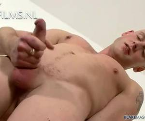 Porn audition of nice gay rascal