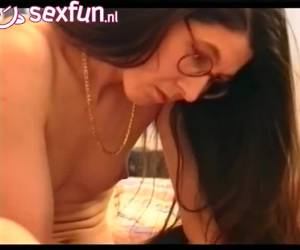 His hairy cock fucks her hairy pussy