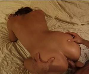 After the rigid dick to have blowjob, she has wet asshole fucking
