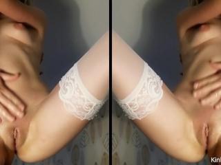 Fucking a squirting, cum-filled 19-y/o pussy
