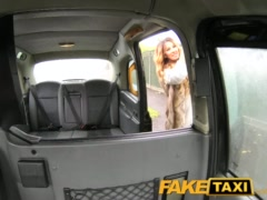 FakeTaxi Stunning gold digger with a great body