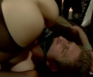 Danny Wylde gets his prostate milked by Bobbi Starr