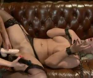 Super sexy blondes play naughty bdsm sex games