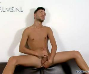 Smooth British Twink his gay porn audition