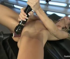 Incredible fetish sex movie with crazy pornstar Amanda Tate from Fuckingmachines
