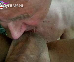 Grandpa like to be a black cock to sucking