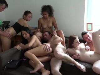 Amateur Group Sex / Swinger Party (Part2)