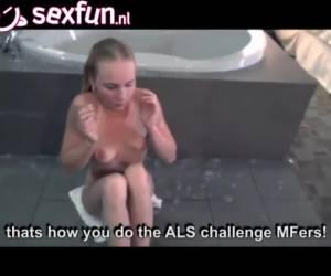 desafío del cubo de hielo durante el sexo