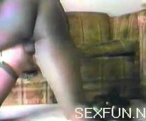 Blonde bitch fucks for the first time a negro