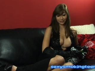 Seven Sexy Super Sultry Sweet Sensational UK British Smoking Teens 0 WHITES
